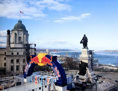 An incredible view of the start @Red Bull Crashed Ice