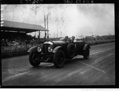 Old Number One Speed Six Bentley Le Mans 1929