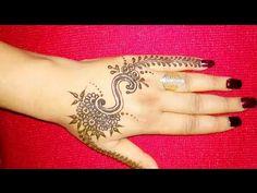 DIY 'S' Letter henna tattoo || Alphabet 'S' Letter mehndi design for hand - YouTube