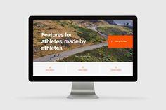 "Popatrz na ten projekt w @Behance: ""Strava.com"" https://www.behance.net/gallery/51247361/Stravacom"