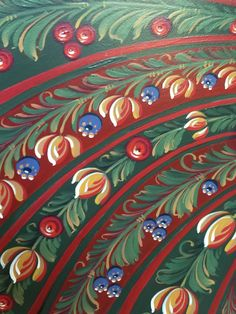 Detail from Hatice Okan's painting.