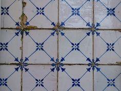 Azulejos da antiga Rua Central da Foz do Douro