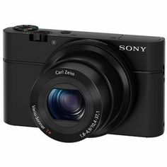 Sony Cyber-shot DSCRX100 20.2MP Black Digital Camera- awesome compact camera