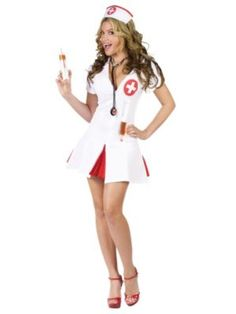 This is how I will look like for Dominican Halloween Party - minus the boob job :-)