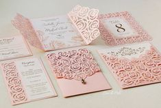 Roses wedding luxury card template cutting file (svg, d Quince Invitations, Wedding Invitation Cards, Wedding Stationery, Wedding Cards, Invites, Rose Wedding, Dream Wedding, Wedding Day, Lace Stencil