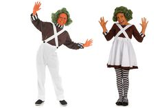 Oompa Loompa Costumes for Dahlicious Dress Up Day