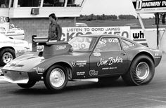 Sportsman Racers Jim Zakia Opel Gt at Dragway Park Cayuga