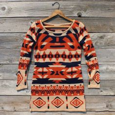 Legend Knit Sweater, Sweet Navajo Inspired Clothing - Polyvore
