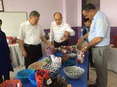 Recycling Company Products at School fair / Okul Sergisinde Geri dönüşüm Şirketi ürünlerimiz
