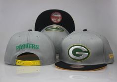 1a99b5bde41 NFL Gold Collection Gray 9FIFTY Green Bay Packers Snapback Hats