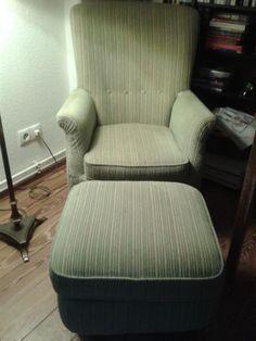 Sessel und Hocker Retro Vintage