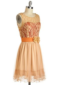 Home Sweet Scone Dress, #ModCloth this is totally gorgeous! how much more perfect could the colors be?