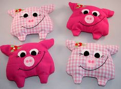 Best Sewing Toys For Baby Pictures Ideas Sewing Toys, Baby Sewing, Sewing Crafts, Sewing Projects, Pig Crafts, Diy And Crafts, Diy Bebe, Cute Piggies, Sock Animals