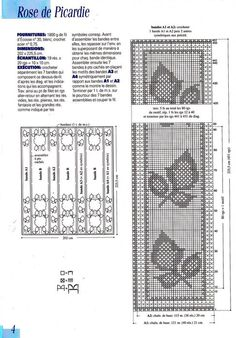 "Photo from album ""qwe on Yandex. Crochet Patterns Filet, Fillet Crochet, Doilies, Diagram, Knitting, Yandex Disk, Bedspreads, Crocheting, Crochet Tutorials"