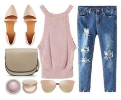 """Dusty Rose"" by genuine-people ❤ liked on Polyvore featuring Charlotte Russe, Eve Lom, MAC Cosmetics, Pink and rose"