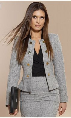 Business-Outfits Business-Outfits in 2020 Elegant Outfit, Classy Dress, Classy Outfits, Chic Outfits, Fashion Outfits, Blazer Outfits, Womens Fashion, Woman Outfits, Fashion 2018