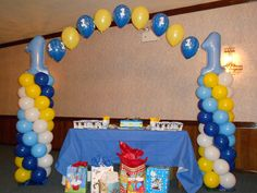 1st birthday balloon colum arch | Recent Photos The Commons Galleries World Map App Garden Camera Finder ...