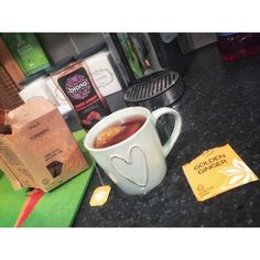 When its late at night and I should be finishing up these MiniMen bookings but am being distracted by the latest episode of #theWalkingDead. Opted to take a break and make a #gingertumerictea only to discover I am down to my last one!!! Noooooooo... gonna have to make do with Vanilla from now on so I better make this one count haha