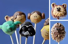 star wars cake pops @Carly Best