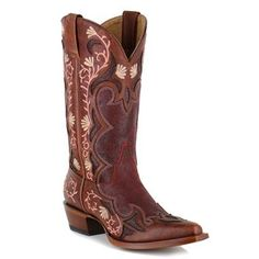 Shyanne® Women's Embroidered Floral Western Boots