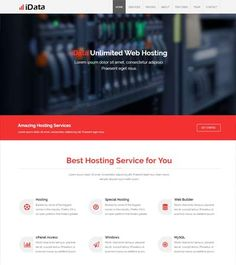 Hosting-Free-Bootstrap-Responsive-Webiste-Template