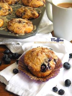 Blueberry Coffee Cake Muffins #FoundMyDelight @walmart (ad)