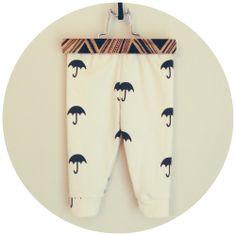 organic cotton (large) umbrella leggings-limited edition print