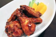 Honey Barbecue Chicken Wings Recipe