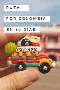 Te contamos al detalle nuestro #itinerario de viaje por #Colombia