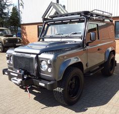 The full shot! Twisted T40s in Corris Grey with 182bhp, Alcon brakes, winch…