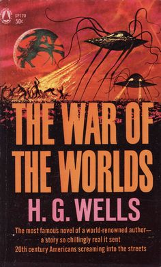 The War of the Worlds - H.G. Wells. $4.25, via Etsy.