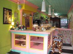 Jane's Sweet Buns New York City Bakery Interior