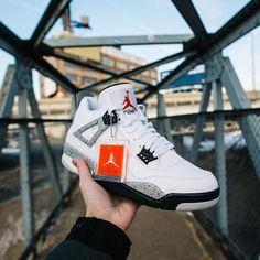 nike sacs de sport polochon - Nike Air Jordan 4 OG 89 White Cement 2016 - Sneaker Bar Detroit ...