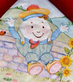 Nursery Rhymes Paper Napkins Baby Shower Humpty Dumpty Serviettes Mother Goose