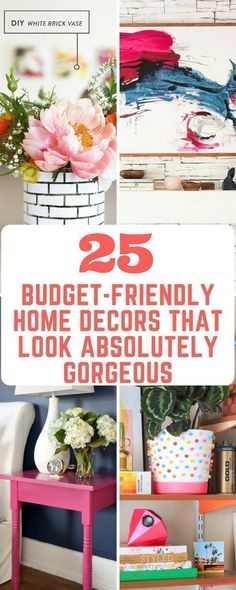 25 Budget-Friendly Home Decors That look Absolutely Gorgeous #homedecor #homestyling #decoracin
