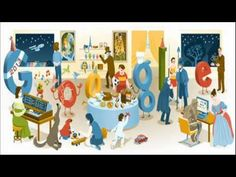 Today (December 31st, 2012) Google is celebrating New year's Eve with special Doodle. The New Year's Eve 2012 Doodle shows all global Google Doodles of 2012.