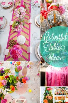 Colourful Wedding Ideas >> http://www.yesbabydaily.com/blog/full-colour-weddings