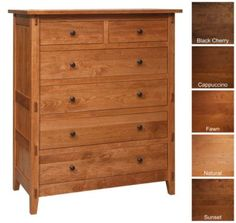 Bungalow 6-Drawer Chest