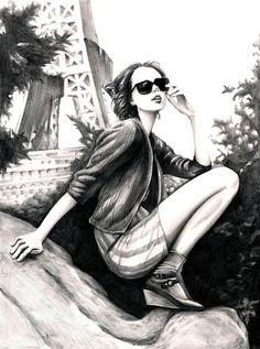 shu84: Tim Lee #Fashion #Illustrations