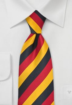 Corbata Alemania rayas Corbata a rayas con los colores de Alemania http://www.corbata.org/corbata-alemania-rayas-p-14313.html