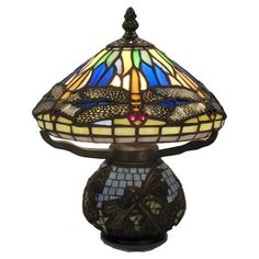 Found it at Wayfair - Dragonfly Style Table Lamp in Bronze