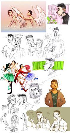 George - Filip - sketch dump by Fukari.deviantart.com on @deviantART