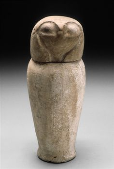 Canopic Jar with Falcon's Head, Middle East 1080/720 B.C.