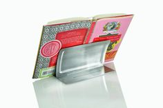 Acrylic & Stainless Steel Adjustable Cookbook Stand - Kitchenique