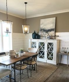 18 Farmhouse Dining Room Design Ideas