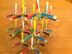 Twisted tetrahedra. Cubic honeycomb.