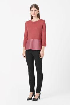 COS | Side-pocket wool jumper