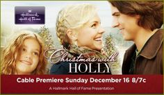Christmas With Holly - Hallmark Channel Video: Mov. Hallmark Christmas Movies, Holiday Movie, Hallmark Movies, Human Target, The Sweetest Thing Movie, Christmas Cheese, Stargate Universe, Romance Movies, Hallmark Channel