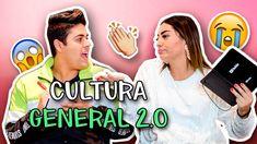 ¿Cuánto sabes de cultura general ? 2.0 ft Alejo Suarez   La Mafe Mendez Cultura General, Youtubers, My Love, Queen