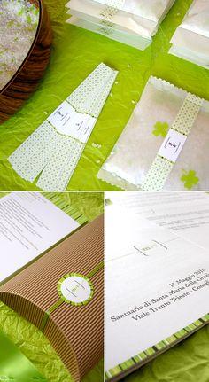 verde, bianco e marrone